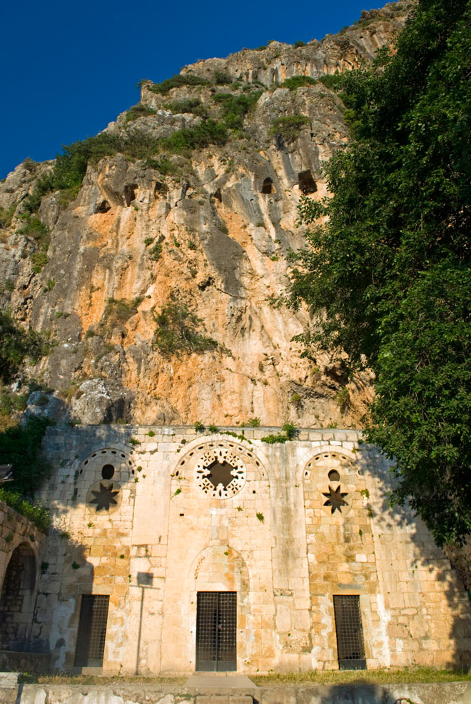 The cave church of St Peter, Antioch